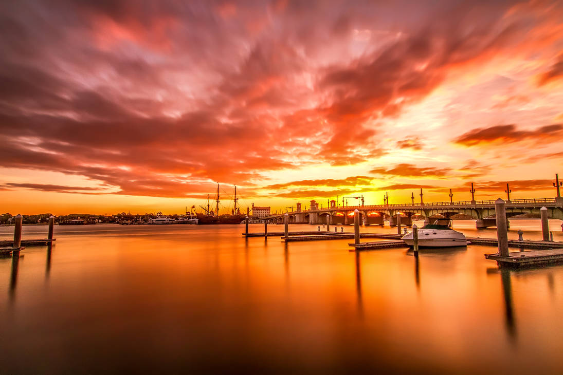 St. Augustine Sunset by RoyalImageryJax
