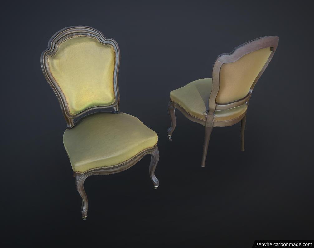 #4 Photgrammetry Chair by Sebvhe