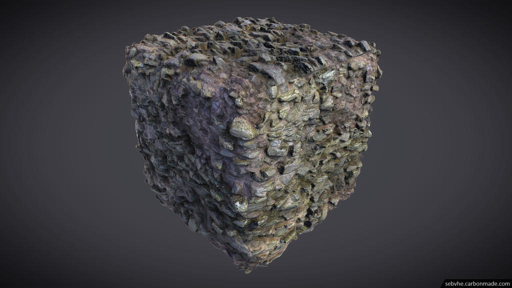 Photogrammetry Texture 01 : Medieval Wall 01 by Sebvhe