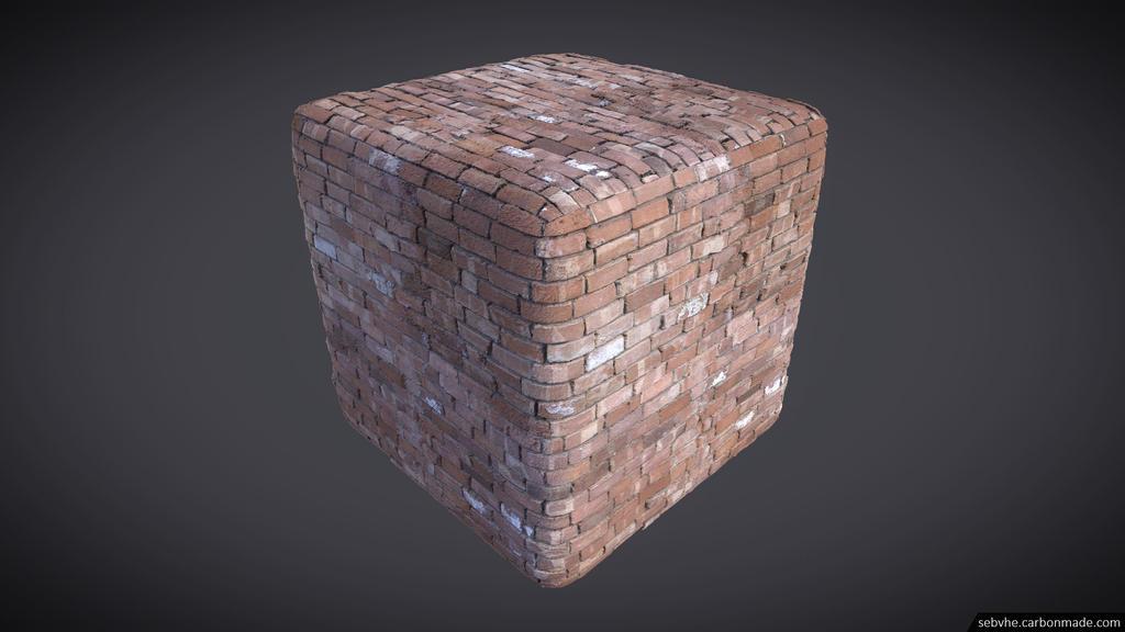 Photogrammetry Texture 03 : Brick Wall 01 by Sebvhe