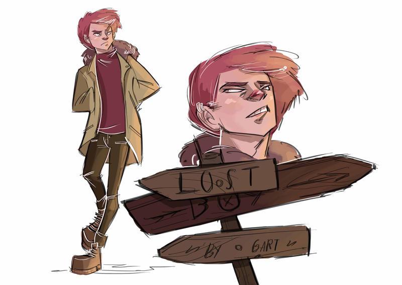 Lost boy by GPinos on DeviantArt - 60.3KB
