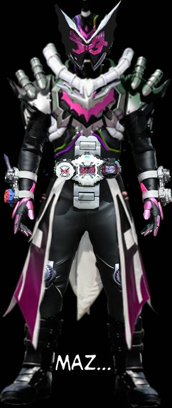 Kamen Rider Zi-O Night Rogue form by Zackwaran on DeviantArt