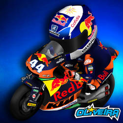 Moto2 2017 : Miguel Oliveira Red Bull KTM Ajo by Ladyheal