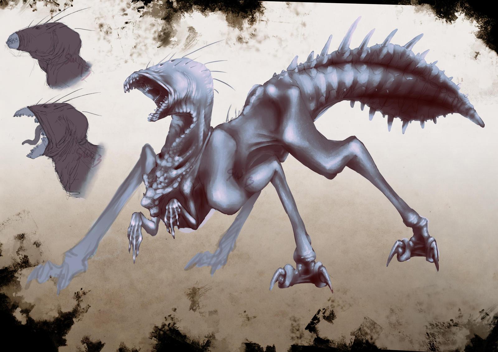Monster Design_01 by SUIamena
