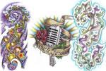 Tattoo Flash - music
