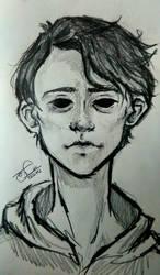 self portrait by Elsuri
