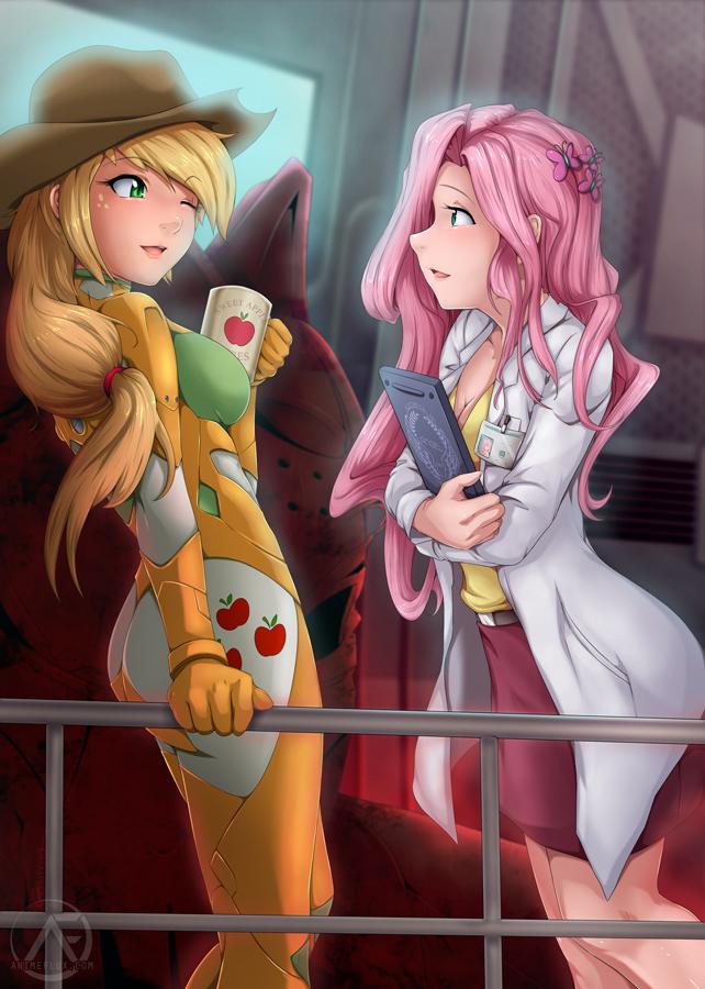 Mobile Suit Equestria: FlutterJack by AnimeFlux