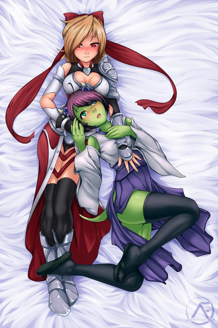 Lucene x Seki Dakimakura by AnimeFlux