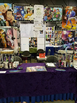 Artist Alley Table