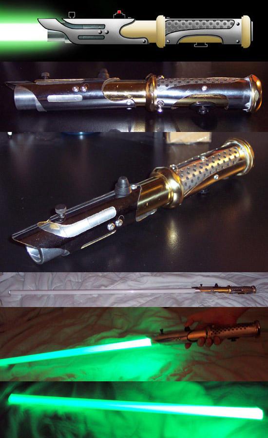 New LED Lightsaber by AnimeFlux