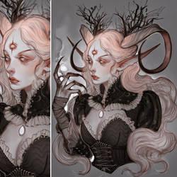 Sorceress- [Commission OPEN]