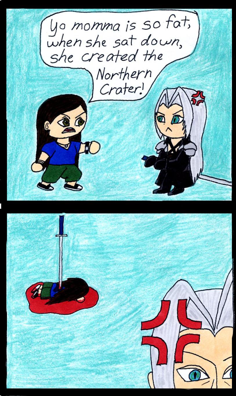 Xejicka vs. Sephiroth by Xejicka