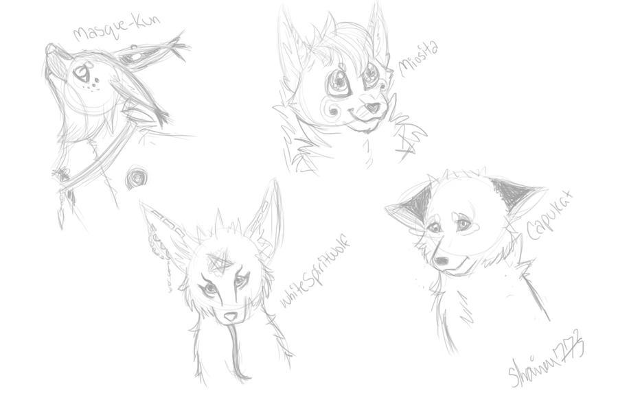 Sketches Headshot by shaina773