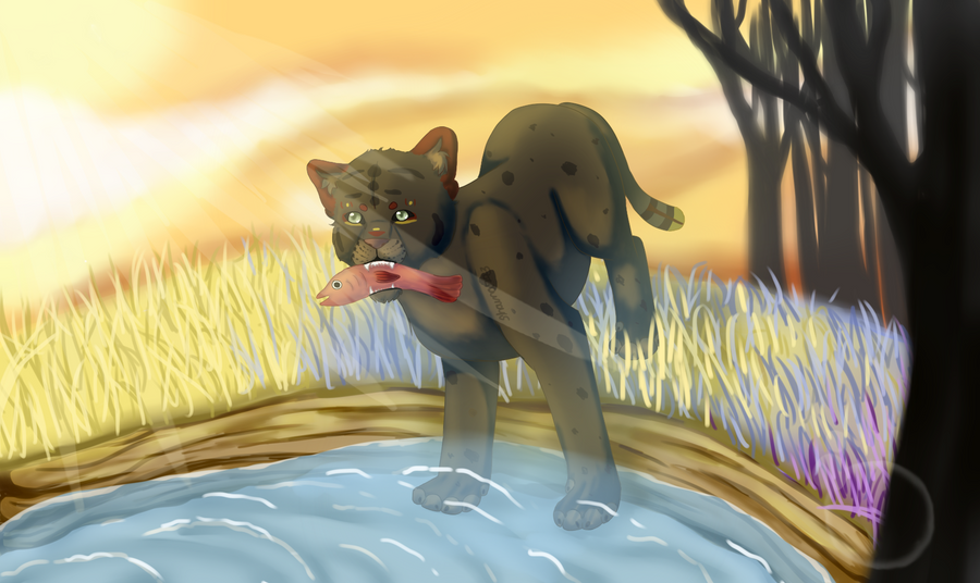 CaledonCat AT!! by shaina773