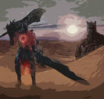 dark souls 3 ringed knight artwork