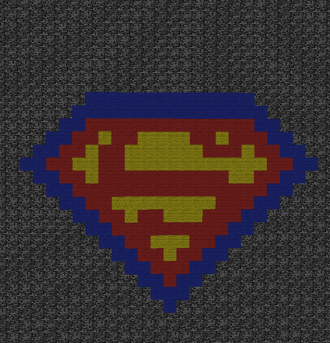 Minecraft Superman Logo By Aprilgoddess On Deviantart