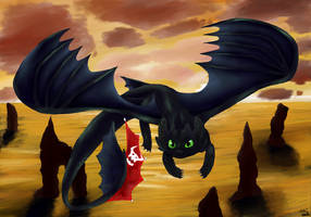HTTYD- Flying High by ashe-the-hedgehog
