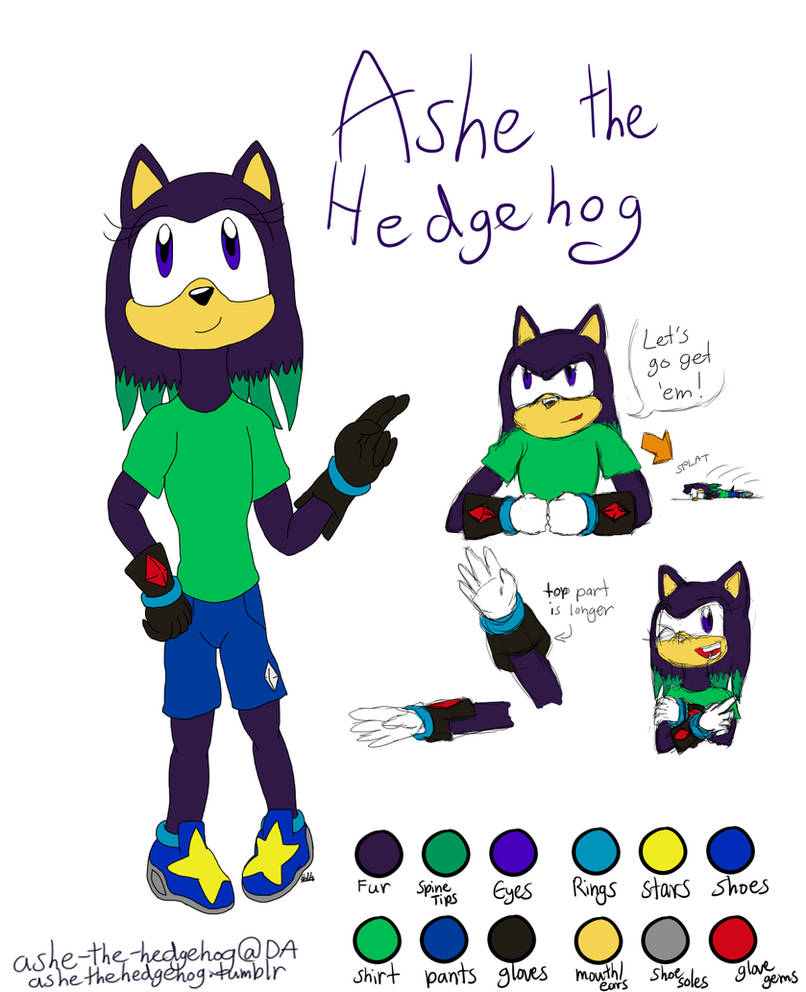 Ashe the Hedgehog 2.0