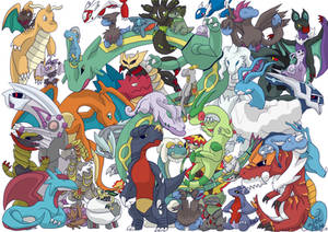 Dragon Pokemon Print