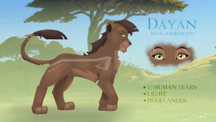 Dayan - Original Character Sheet