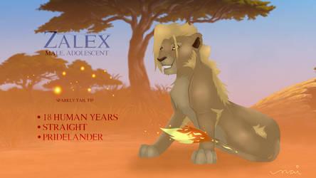 Zalex - Original Character Sheet