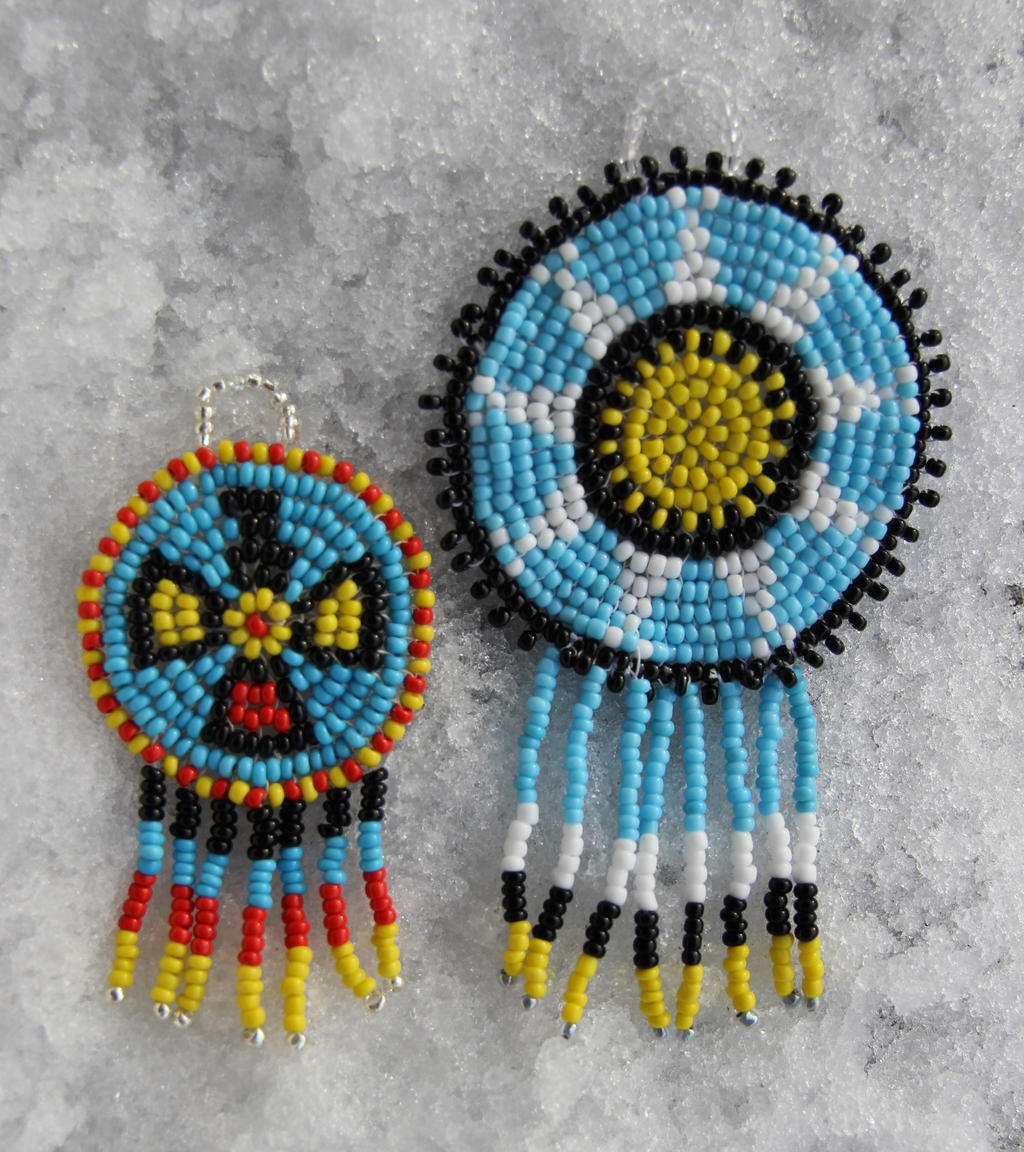 how to make dream catchers with beads