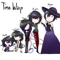 Time Warp Challenge ft. Celine Farron by PhantomAngelArtzy219