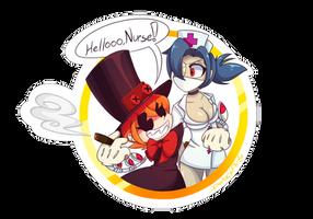 HELLOOO, NURSE!~ [Skullgirls] by PhantomAngelArtzy219