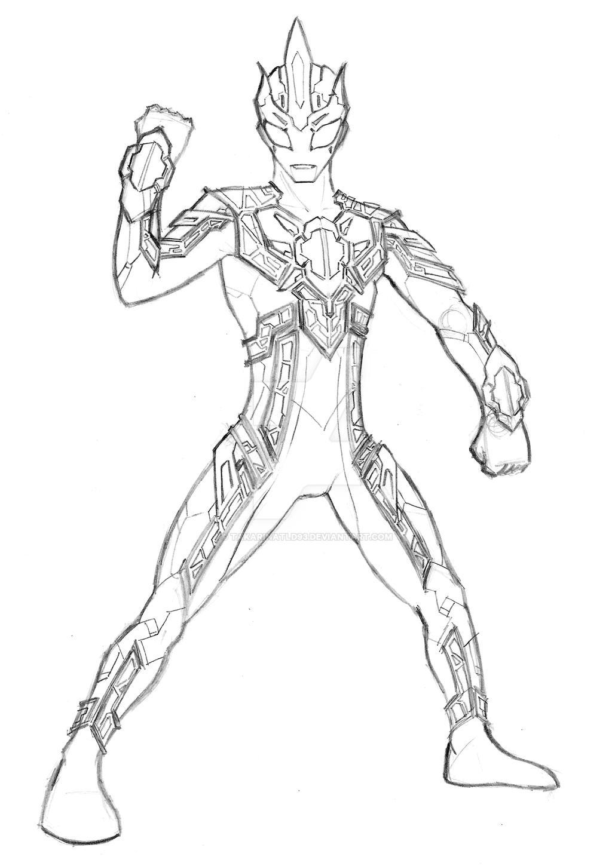 Coloring pages ultraman - Original Ultraman Spectre By Takarinatld93 Original Ultraman Spectre By Takarinatld93