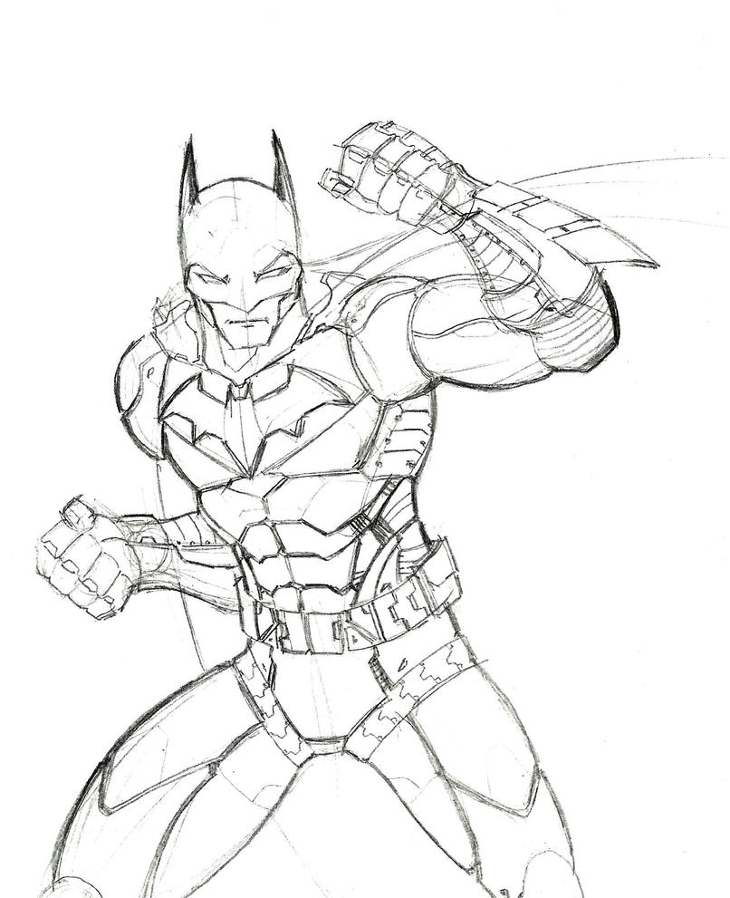 Batman Coloring Pages Dark Knight