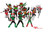 10 SD Showa Riders