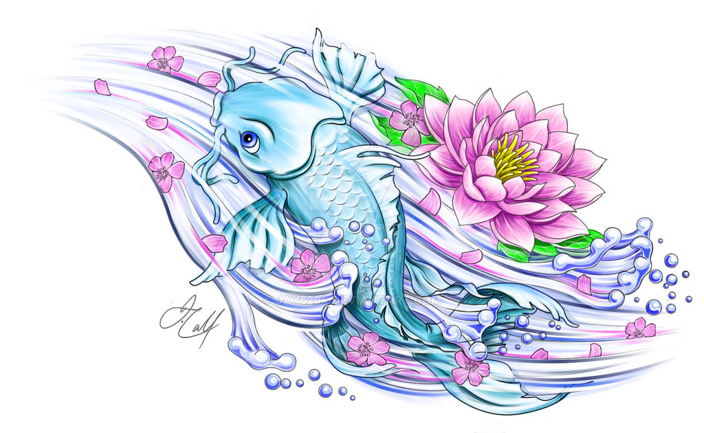 Koi by jay5204 on deviantart for Coy poisson