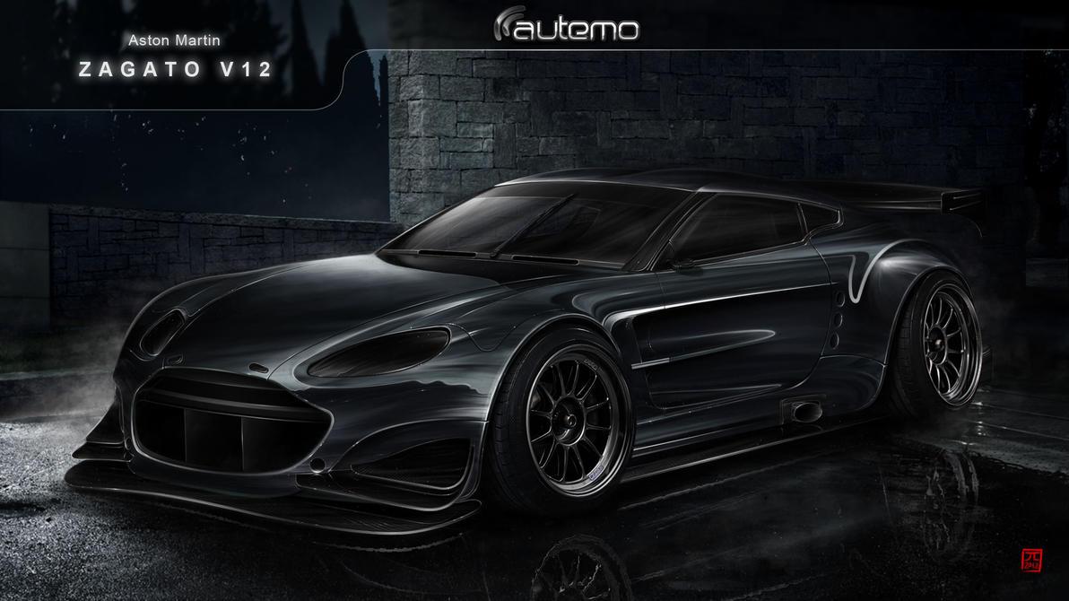 Aston Martin V12 Zagato by Jay5204