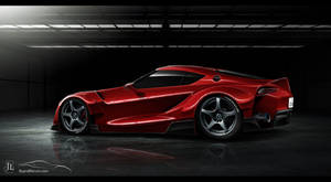 Toyota FT-1 Red