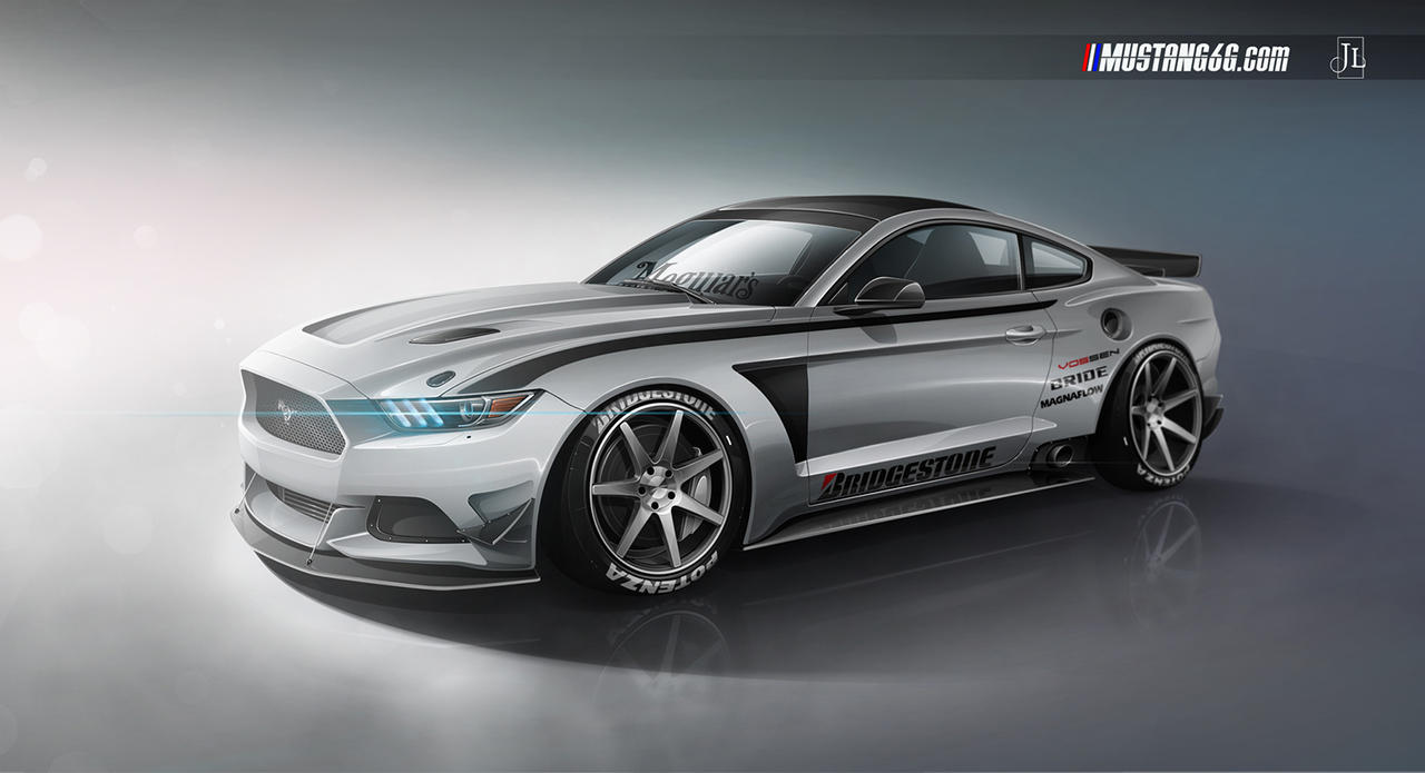 2015 Ford Mustang by Jay5204