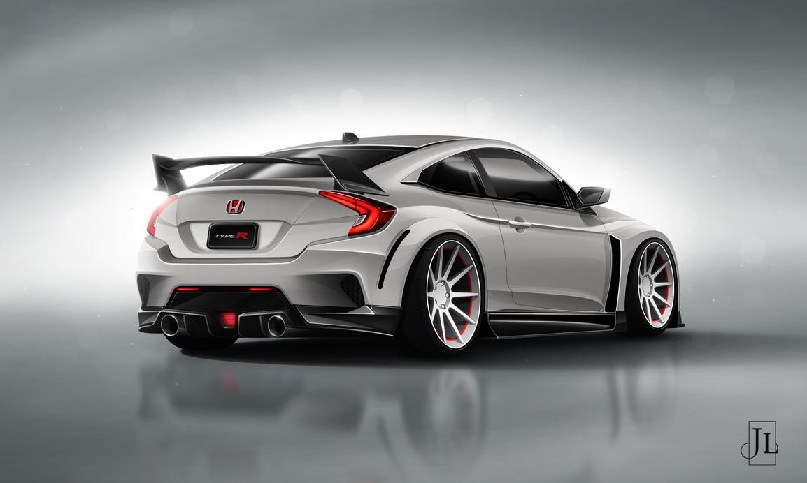 Honda CTR Concept Rear by Jay5204
