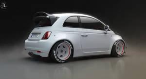 Rallycross Fiat 500 by Jay5204