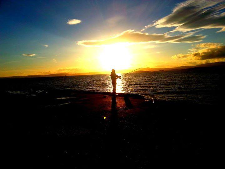 Sunset Angler by BeatStoker