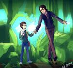 [ LOST ] yang Ben and Richard (first meet)