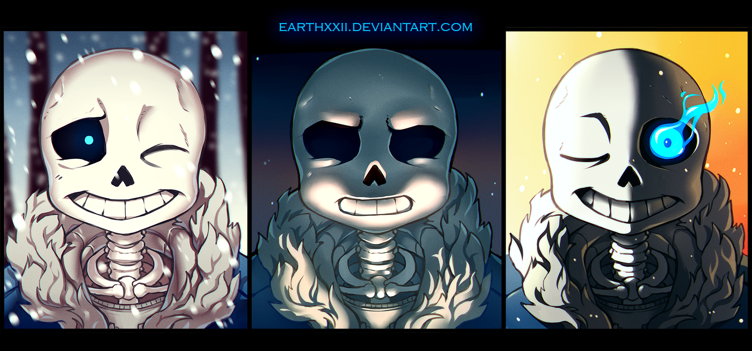 undertale sans sans sans by earthxxii on deviantart