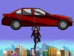 Wonder Brunette - Super Strength!!