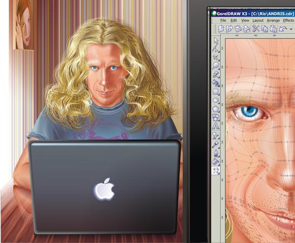 Portrait of the husband by GruberJan