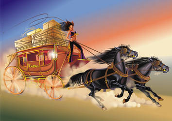 Stagecoach by GruberJan