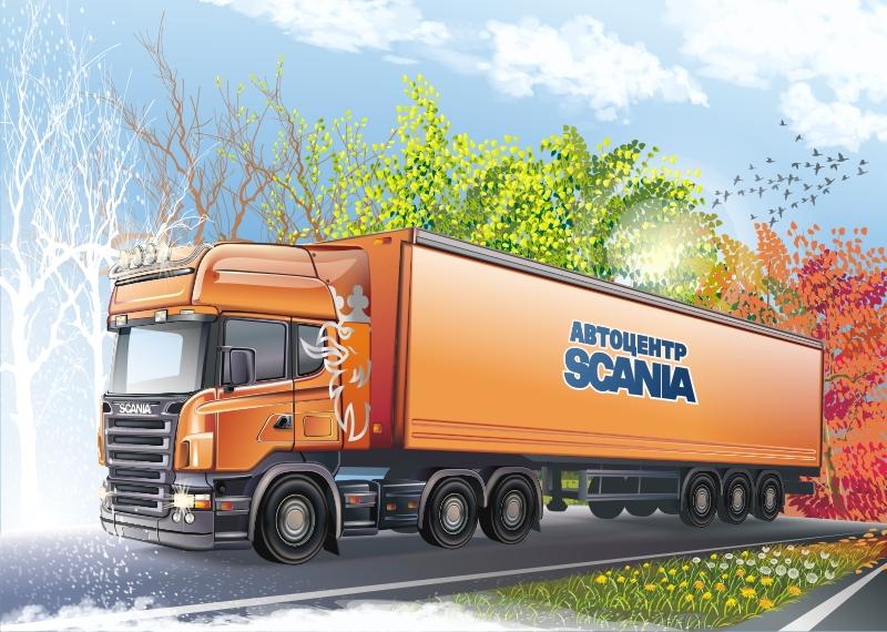 Scania Art by GruberJan
