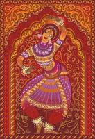Magic of the Indian dance by GruberJan