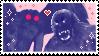 mothman x bigfoot stamp by cooliesy
