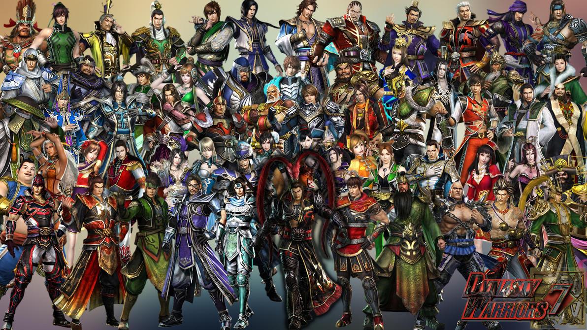 Dynasty Warriors 7 Cha...