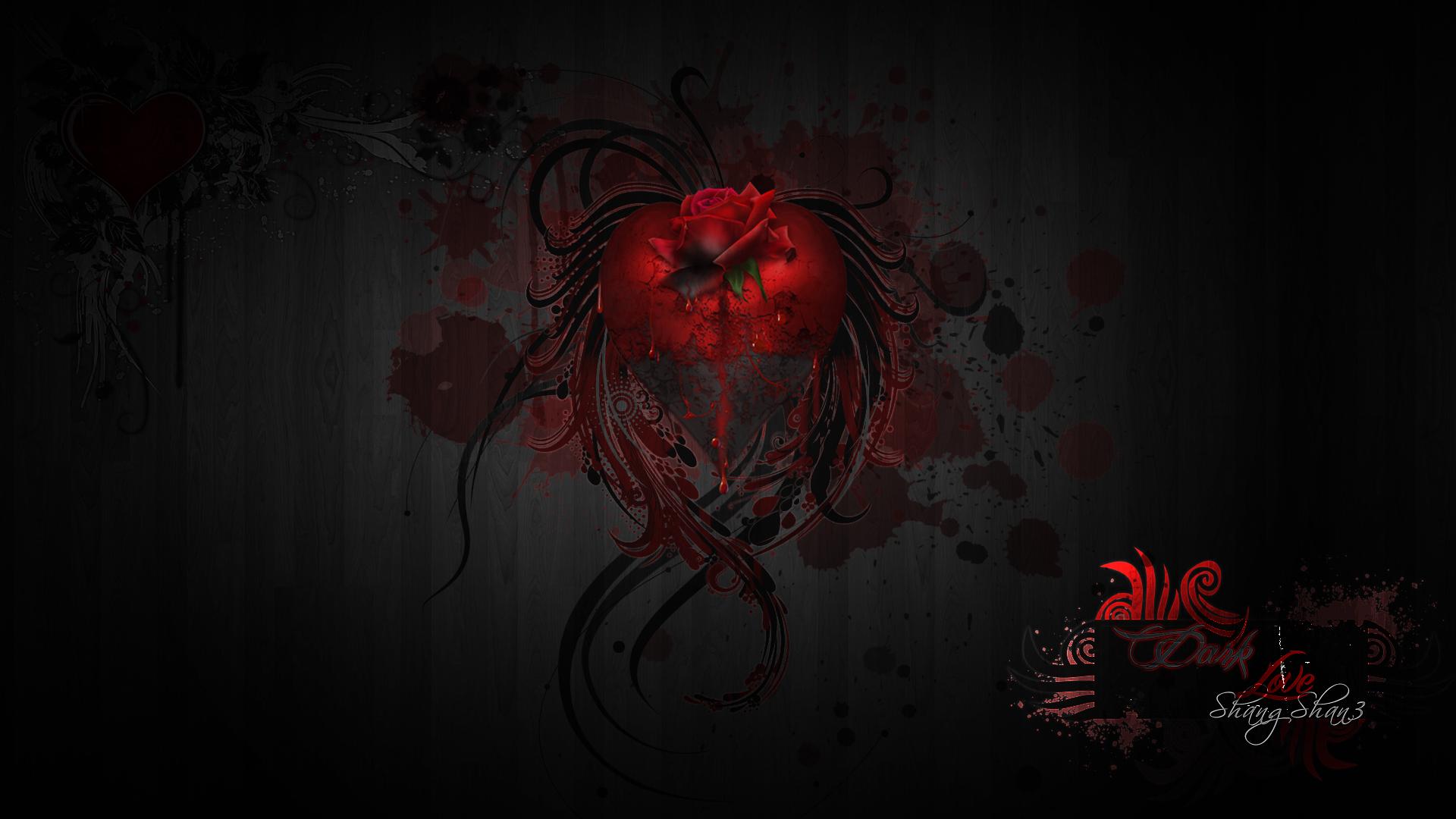 Dark Love Drawings Dark Love by ShangShan...