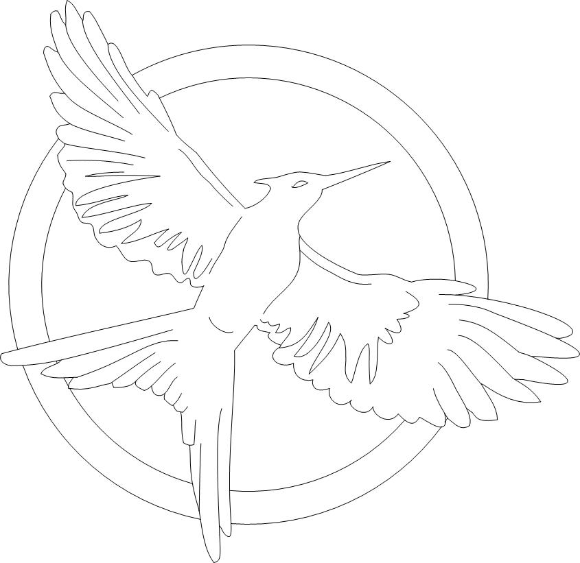 hunger games coloring pages printable - photo#20