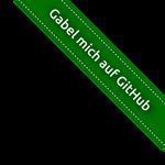 Gabel mich auf GitHub (german joke)